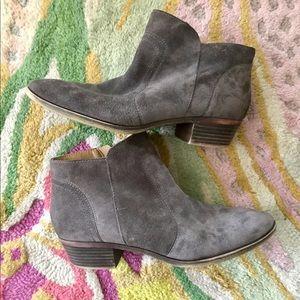Suede Booties by Lucky Brand